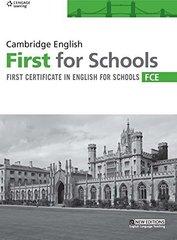 Cambridge FCE For Schools Pract Tests SB