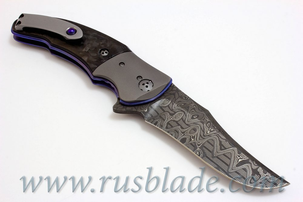 Allen Elishewitz Custom Silver Fox Flipper