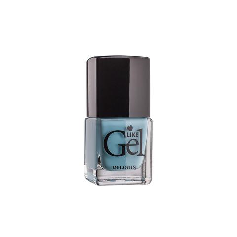 Relouis Like Gel Лак для ногтей с гелевым эффектом тон №09 (небесная безмятежность)