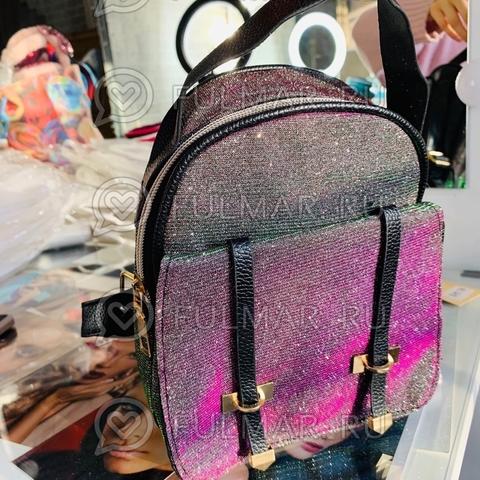 Блестящие рюкзаки