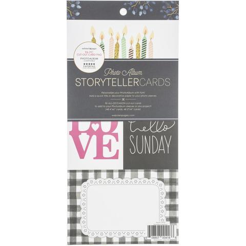 Набор карточек  для альбома - PhotoAlbum Cards Pad Storyteller