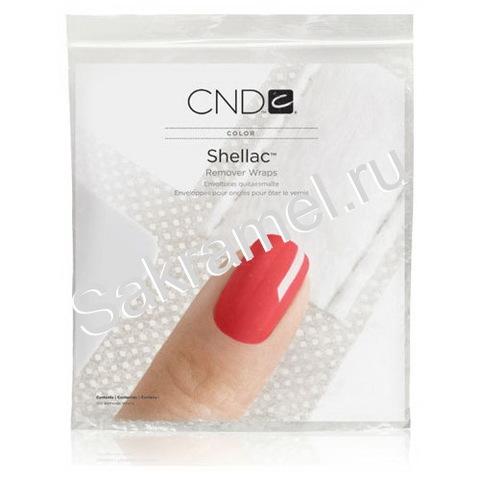 CND Shellac Remover Wraps 10 штук (фольга для удаления Shellac)