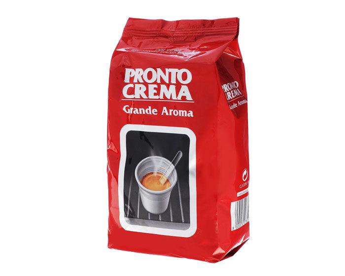 купить кофе в зернах LavAzza Pronto Crema Grande Aroma