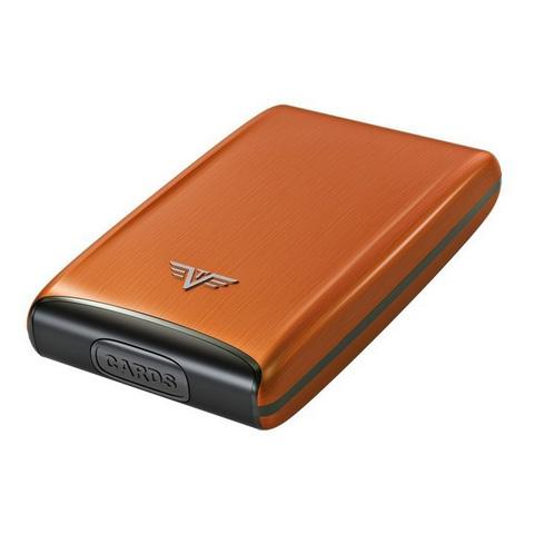 Визитница c защитой Tru Virtu Razor, оранжевый , 104x68x20 мм