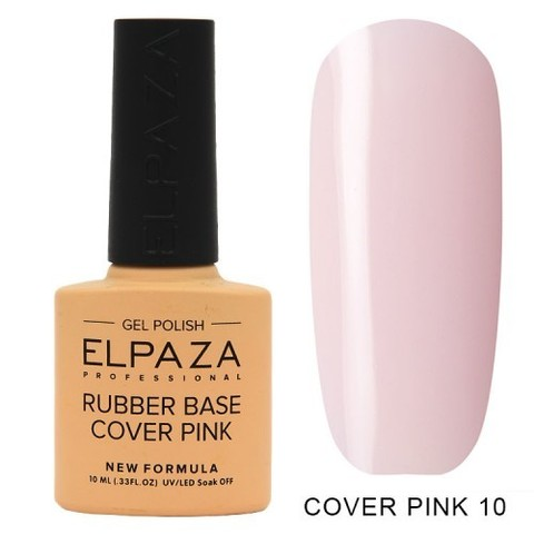 Elpaza Rubber Base Cover Pink, 10