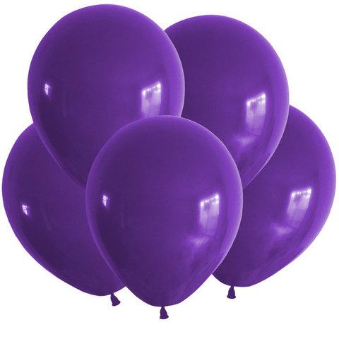 Воздушные шары с гелием фиолетовые