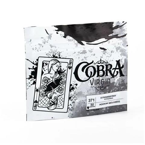 Кальянная смесь Cobra VIRGIN Клубника (Strawberry) 50 г
