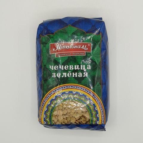 Чечевица зеленая НАЦИОНАЛЬ, 450 гр