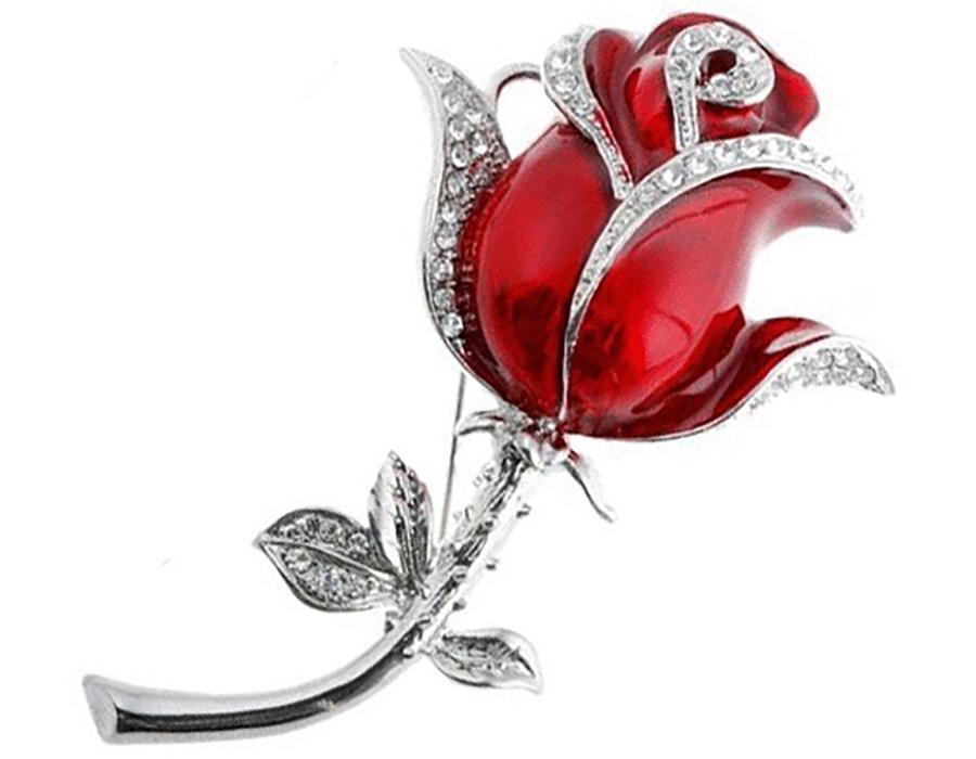 usb-флешка роза ювелирная