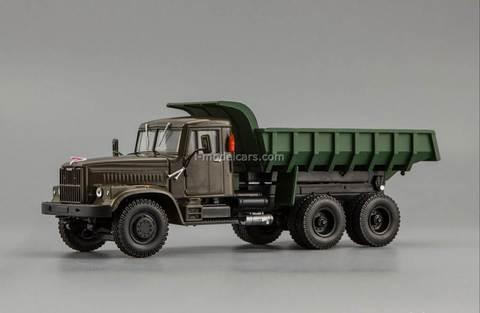 KRAZ-256B 1969-1977 green 1:43 Nash Avtoprom