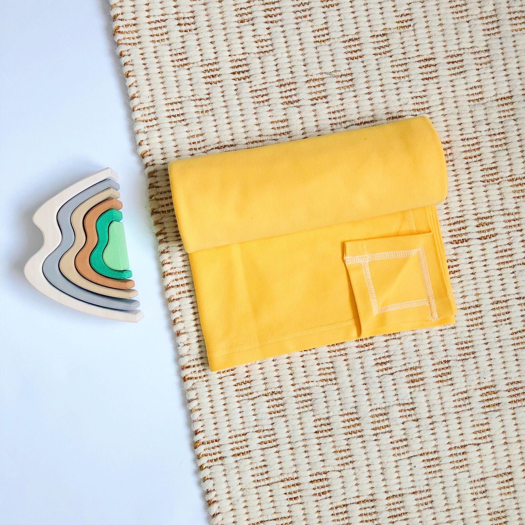 Пеленка Mjölk Minion Yellow Swaddle