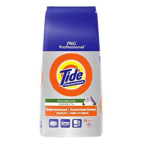 Порошок стиральный автомат Tide Professional Альпийская свежесть 15 кг