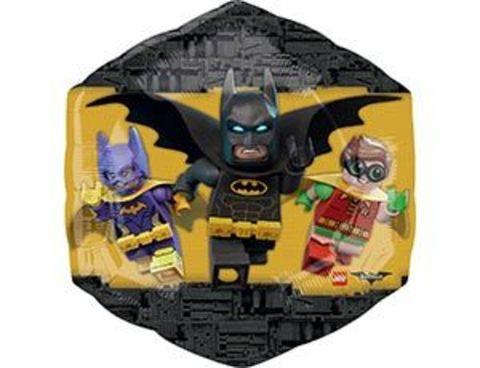 Фольгированный шар Лего Бэтмен ромб