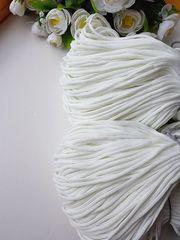 Белый Полиэфирный шнур