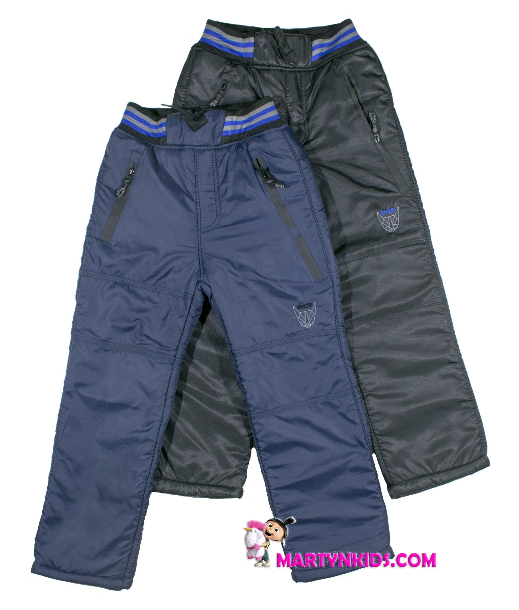 2872 зима штаны рисунок средние теплые 052