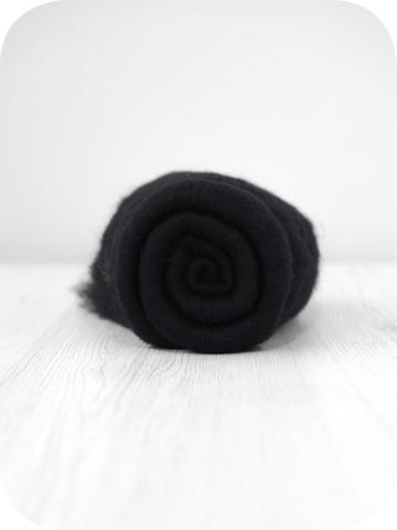 Кардочес тонкий мериносовый Черный (Dark)