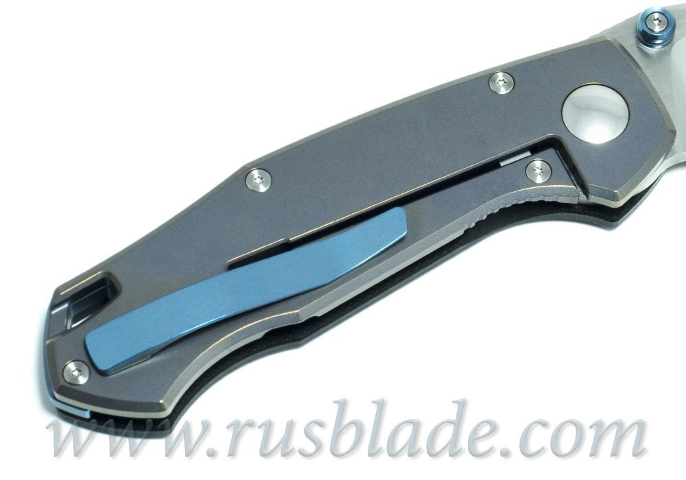 CKF MKAD Red Farko knife (M390, Ti, bearings)