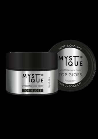 Mystique Финишное покрытие без липкого слоя «Gloss» 30 мл