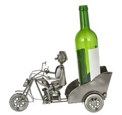 Держатель для бутылок «Ретро — Мотоциклист», фото 2