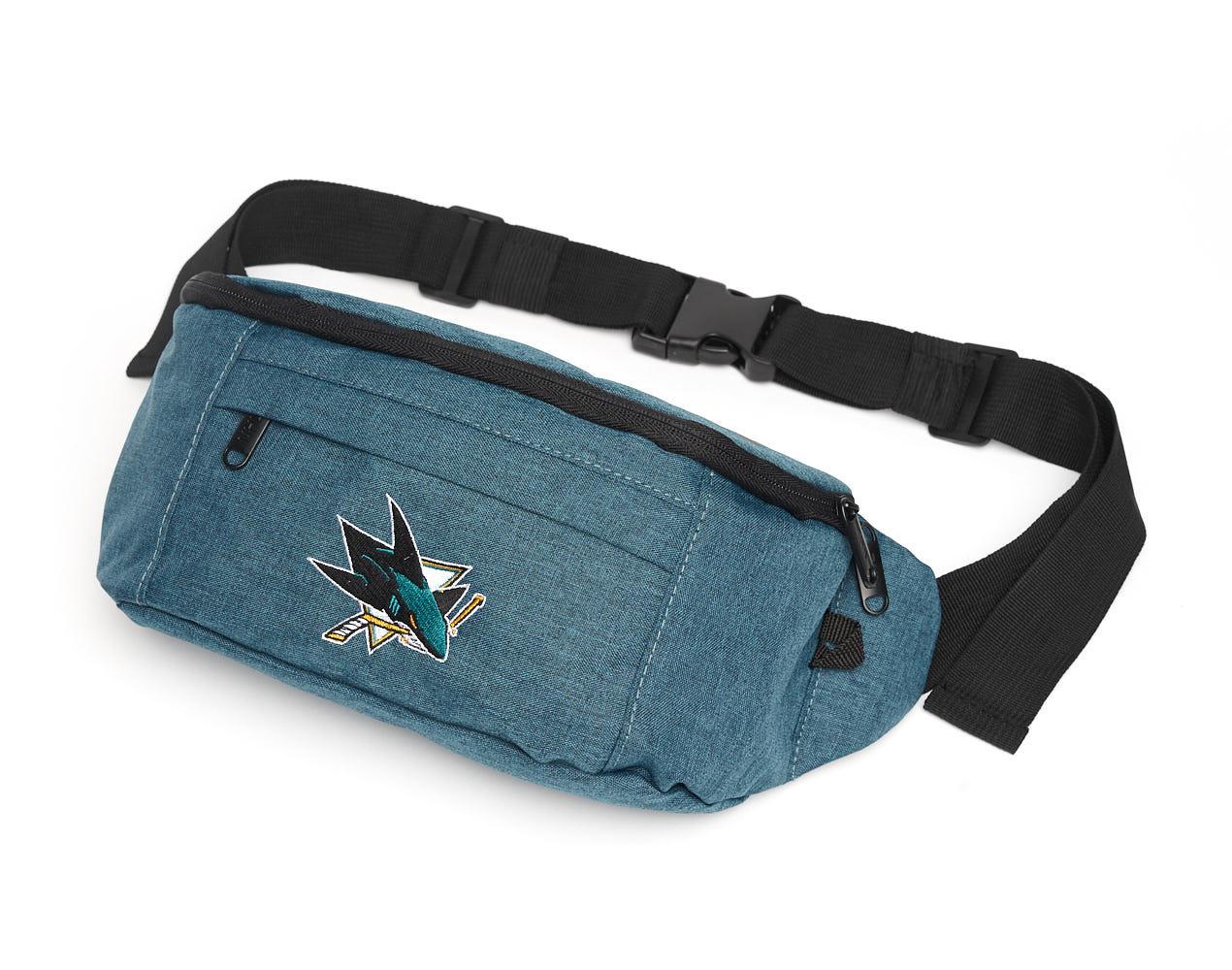 Сумка на пояс NHL San Jose Sharks