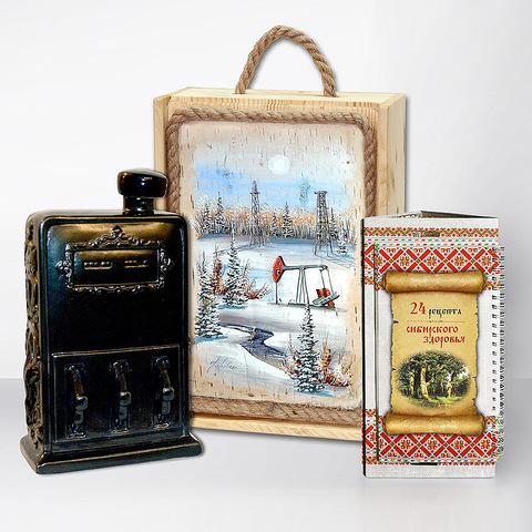 """Подарочный набор """"Сибирь. Бензоколонка"""""""