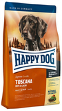 Happy Dog Supreme Sensible Toscana Сухой корм для собак со сниженным содержанием жира при аллергиях с Уткой и Лососем 4 кг. (03541)