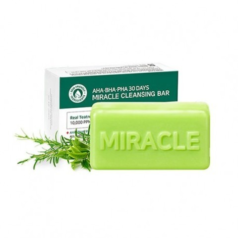 Some By Mi AHA.BHA Мыло для проблемной кожи с AHA BHA кислотами AHA BHA PHA 30 Days Miracle Cleansing Bar 106g