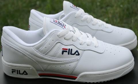 Белые кроссовки fila женские B1092-4
