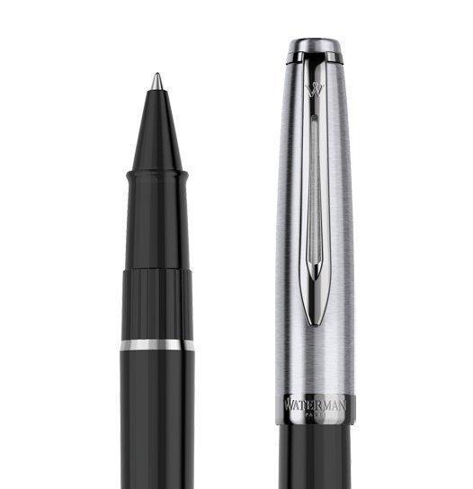 Waterman Embleme - Black CT, ручка-роллер, F