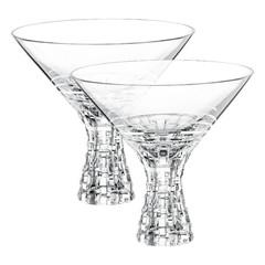 Набор из 2 хрустальных фужеров для мартини Bossa Nova, 340 мл, фото 1