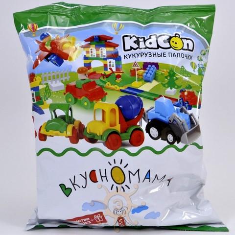 Палочки кукурузные KidCon с игрушкой Вкусномама, 40г