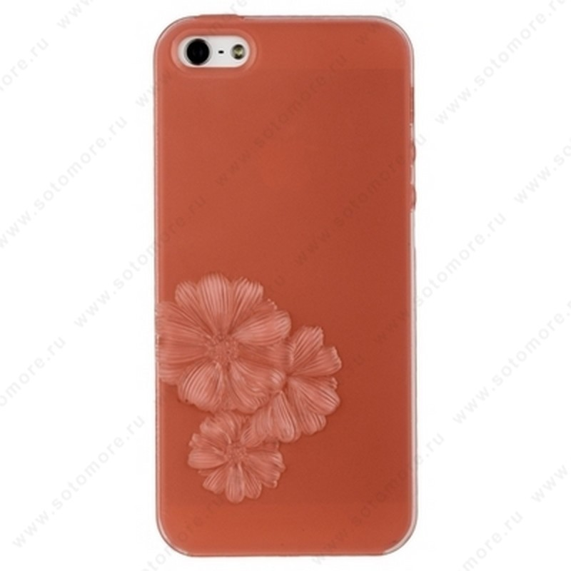 Накладка SwitchEasy для iPhone SE/ 5s/ 5C/ 5 ярко-розовая