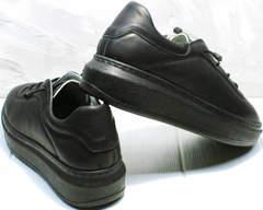 Женские осенние кроссовки кеды утепленные женские Rozen M-520 All Black.