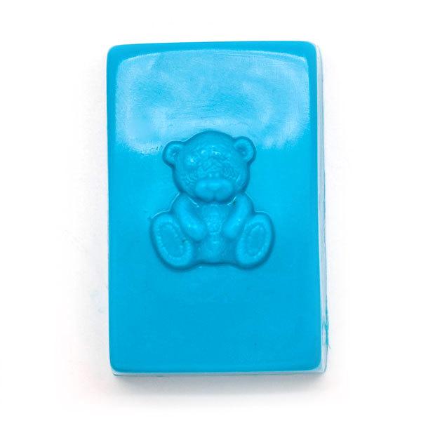 Пластиковая форма для мыла Мимимишка на прямоугольнике