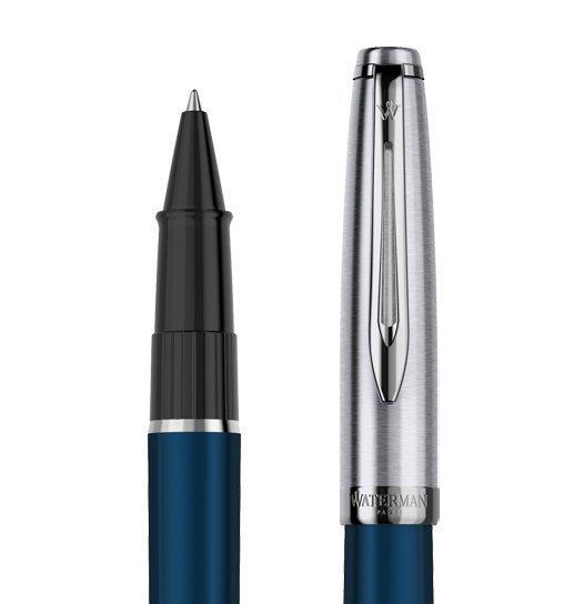 Waterman Embleme - Blue CT, ручка-роллер, F
