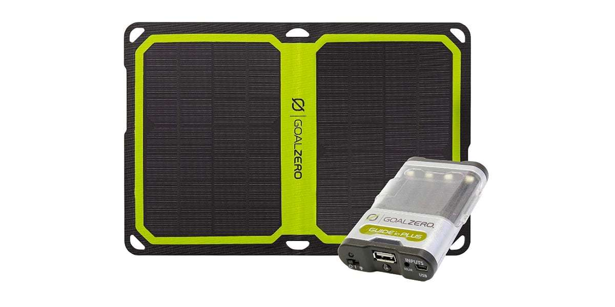 Зарядный комплект Goal Zero Guide 10 Plus Solar Kit (Nomad 7+)
