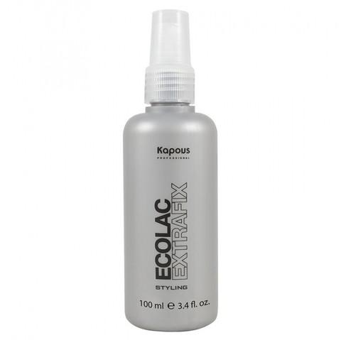 Лак для волос жидкий сверхсильной фиксации «Ecolac Extrafix» 100 мл