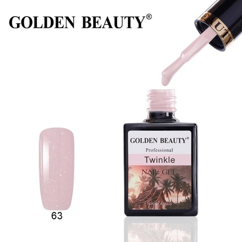 Гель лак Golden Beauty 14 ml, Twinkle