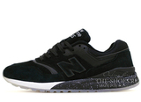 Кроссовки Мужские New Balance 997.5 Black White