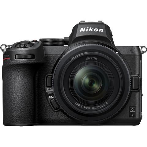 Цифровой беззеркальный фотоаппарат Nikon Z 5 kit с объективом NIKKOR Z 24-50mm + адаптер FTZ