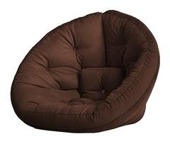 Кресло Farla Lounge Тёмно-коричневое