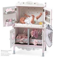 DeCuevas Деревянный игровой центр  с аксессуарами для куклы серии