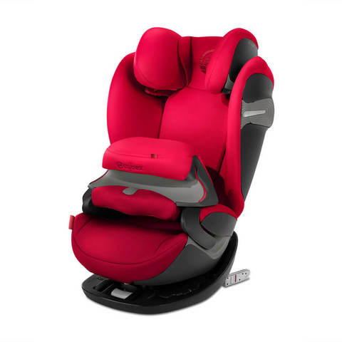 Автокресло Cybex Pallas S-Fix Rebel Red