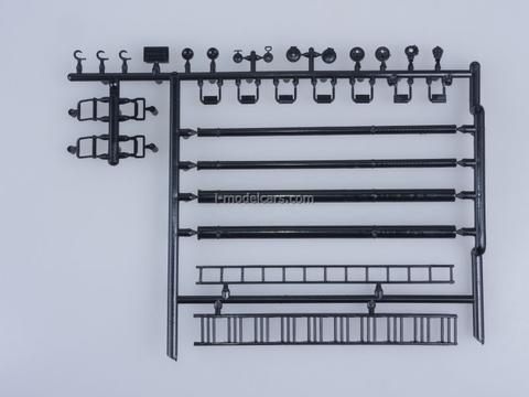 ZIL-130 AC-40 63B fire engine 1977 Kit 1:43 Car Models in Detail (by SSM) Start Scale Models