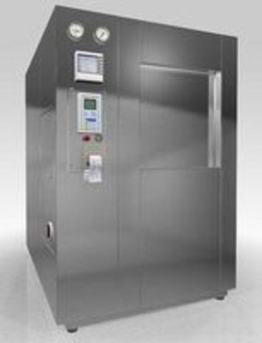 Стерилизатор паровой с автоматическим управлением PHS-600 проходной со встроенным парогенератором - фото