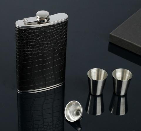 Подарочный набор «Крокодил», черный
