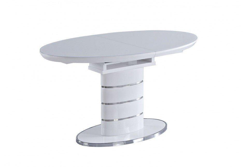 Стол обеденный AVANTI LUNA (140) WHITE (белый)