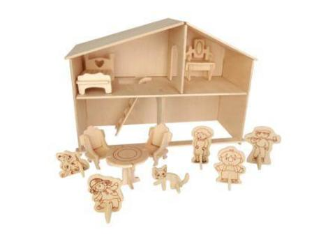 C009 Кукольный домик