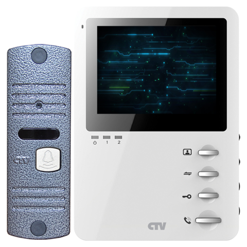 Видеодомофон CTV-DP1400M