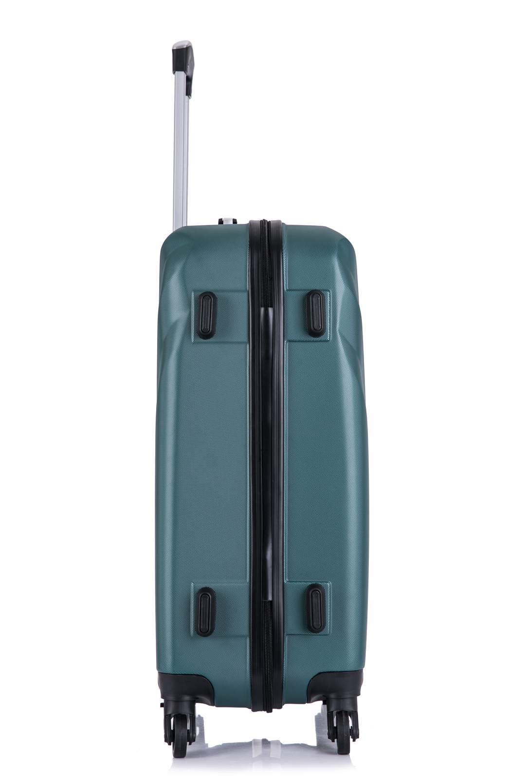 Чемодан со съемными колесами L'case Phuket-20 Темно-зеленый ручная кладь (S+)